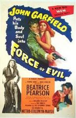 Force of Evil 1948 DVD - John Garfield / Thomas Gomez